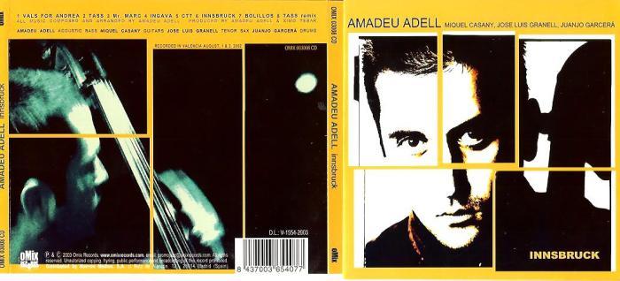 CD-cover Amadeu Adell - Innsbruck