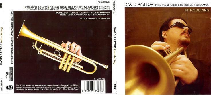 CD-cover David Pastor - Introducing