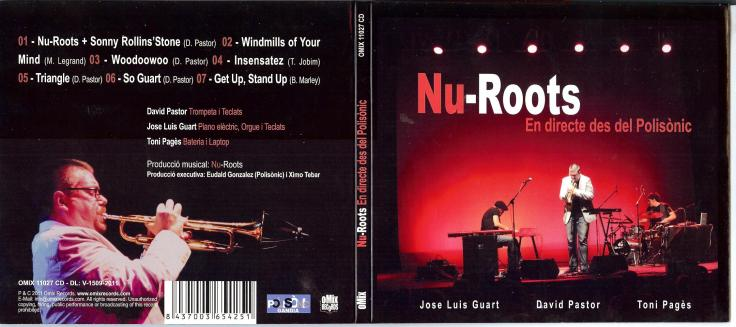 CD-cover David Pastor - Nu-Roots En Directe Desde El Polisonic