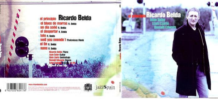 CD-cover EL Principio - Ricardo Belda