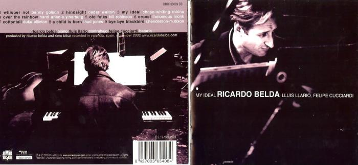 CD-cover Ricardo Belda - My Ideal