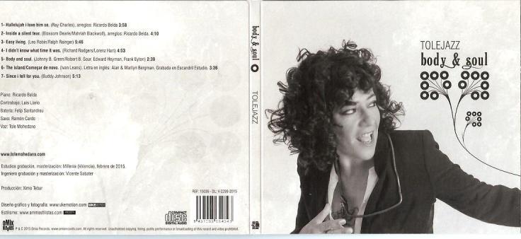CD-cover Tole Mohedano - Body & Soul